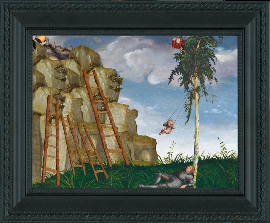 POP UP CRANACH – Bilder gestalten wie bei Cranachs   Schulprojekte ...