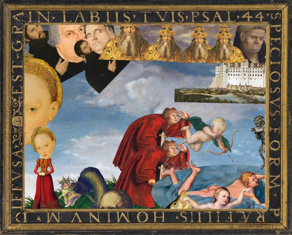 POP UP CRANACH – Bilder gestalten wie bei Cranachs | Schulprojekte ...